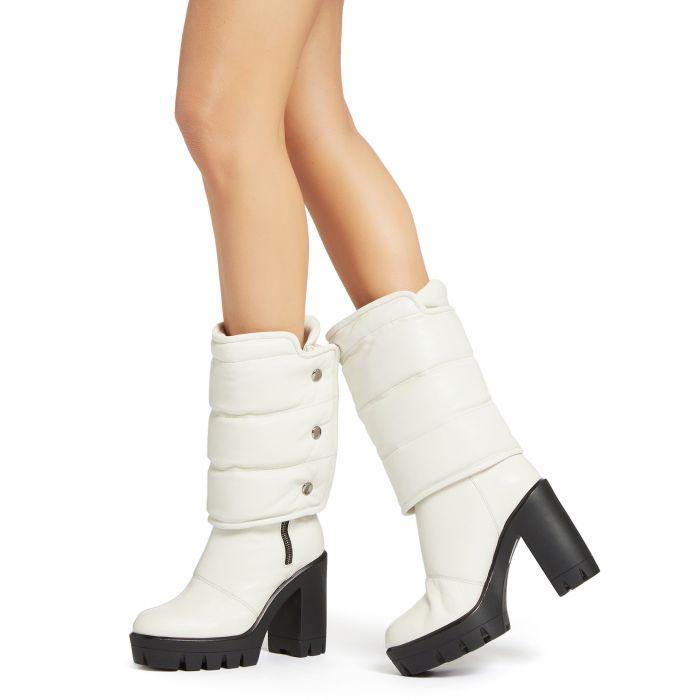 URANUS - White - Boots