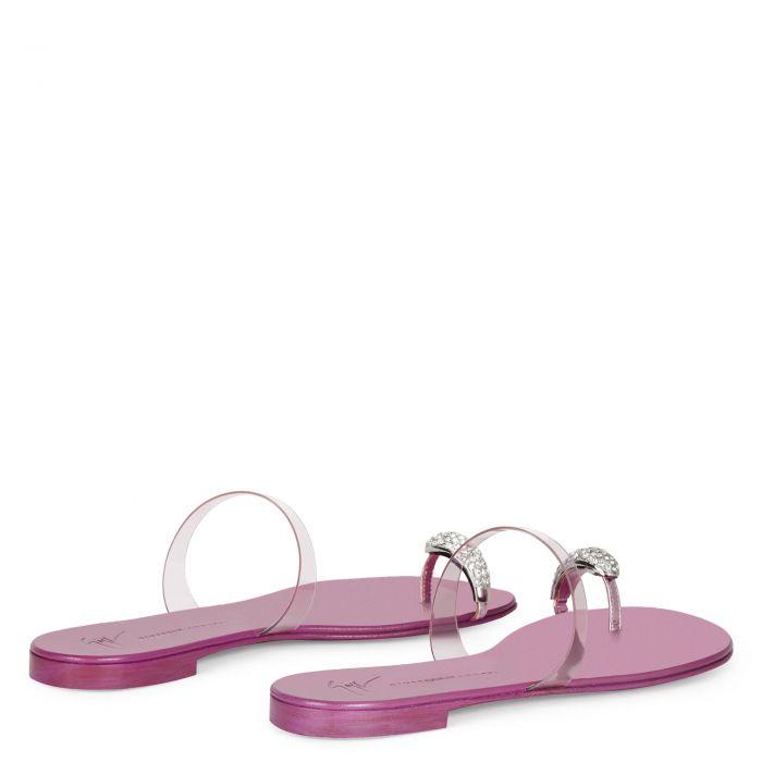 RING PLEXI - Pink - Flats