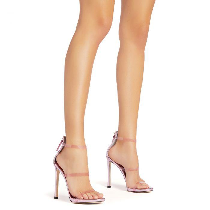 HARMONY PLEXI - Pink - Sandals