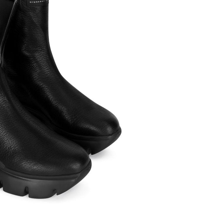 APOCALYPSE ZIP - Schwarz - Stiefel