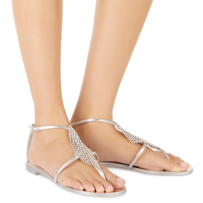 JOSIE - Silver - Flats