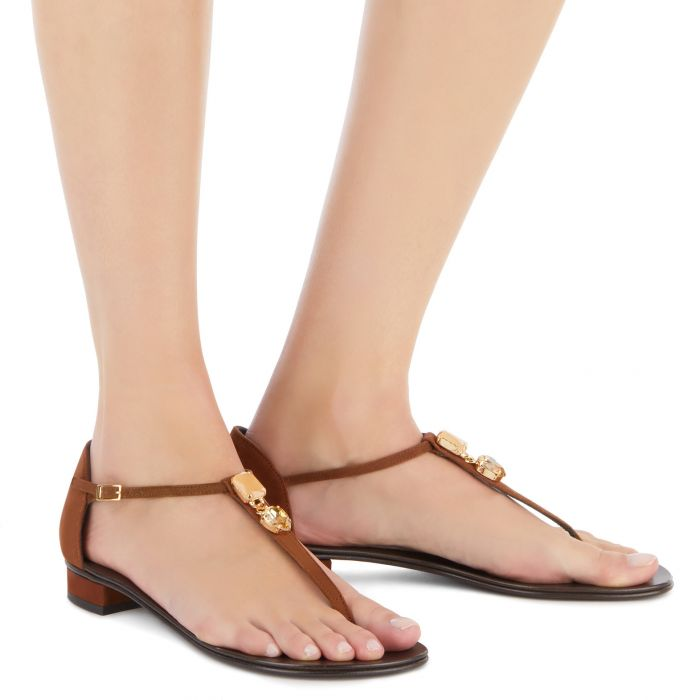 EVIE - Brown - Flats