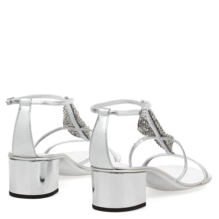 JOSIE 50 - Silver - Sandals