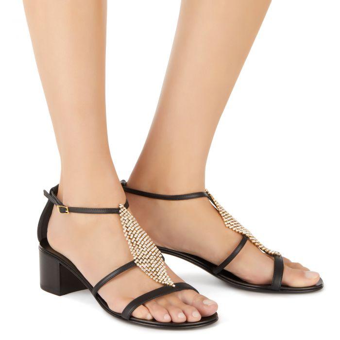 JOSIE 50 - Black - Sandals