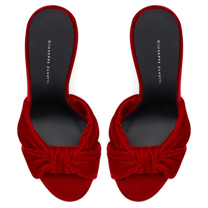 CECILY - Red - Sandals