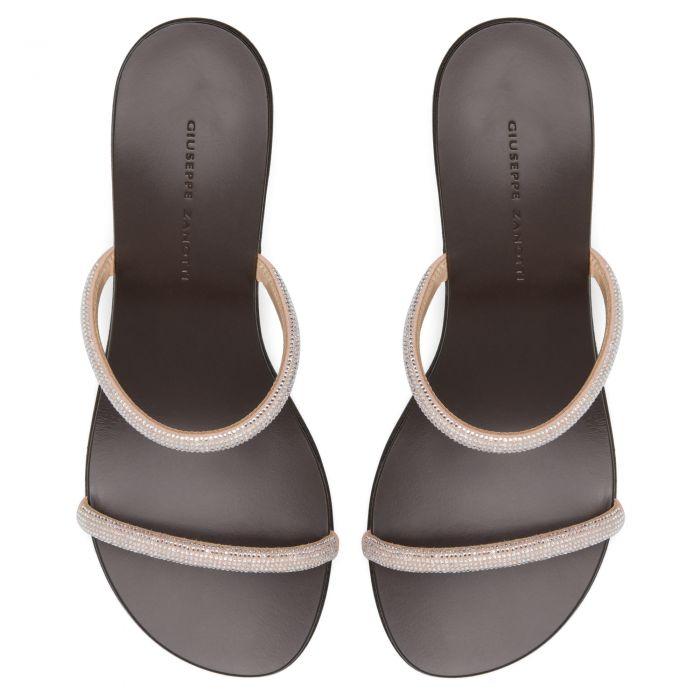 CROISETTE CRYSTAL 50 - Pink - Sandals