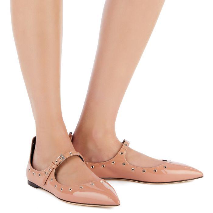 ALYSON CUT - Pink - Flats