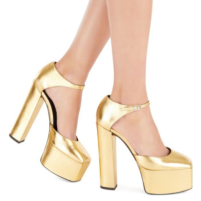 BEBE - Gold - Platforms