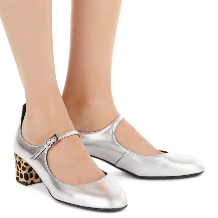 HEIDI FELINE - Silver - Flats