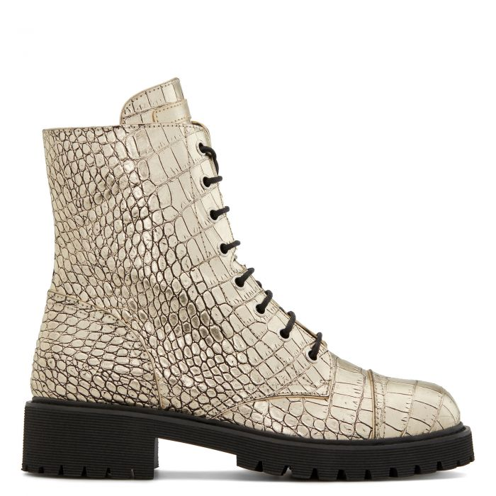 THORA - Gold - Boots