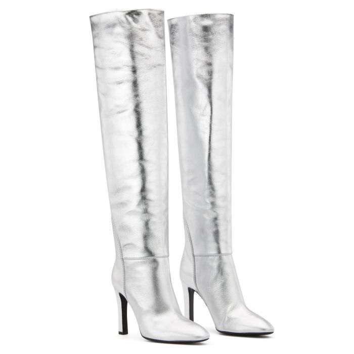 HATTIE - Silver - Boots