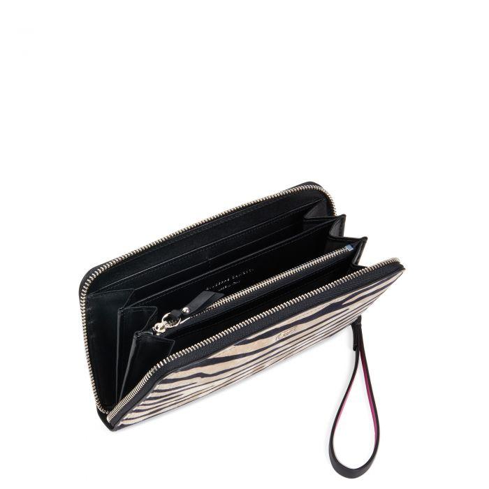 PAULA - Black and white - Wallets