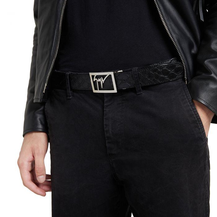 GZ TAG - Black - Belts