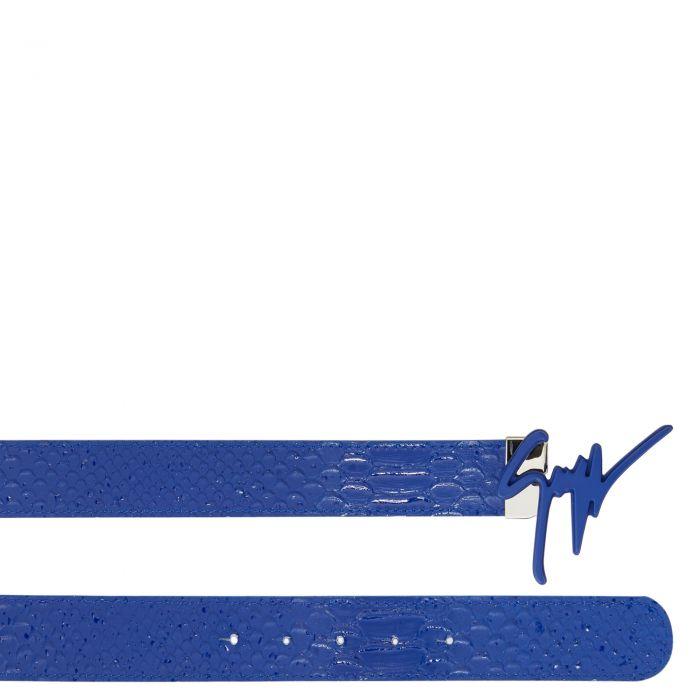 GIUSEPPE - Blu - Cinture