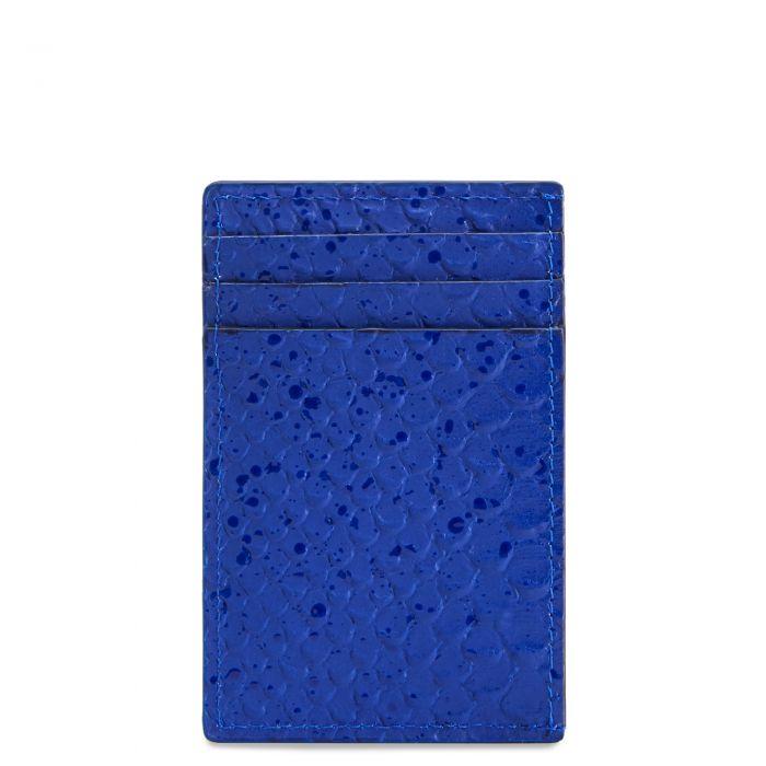 ALBERT - Bleu - Portefeuille