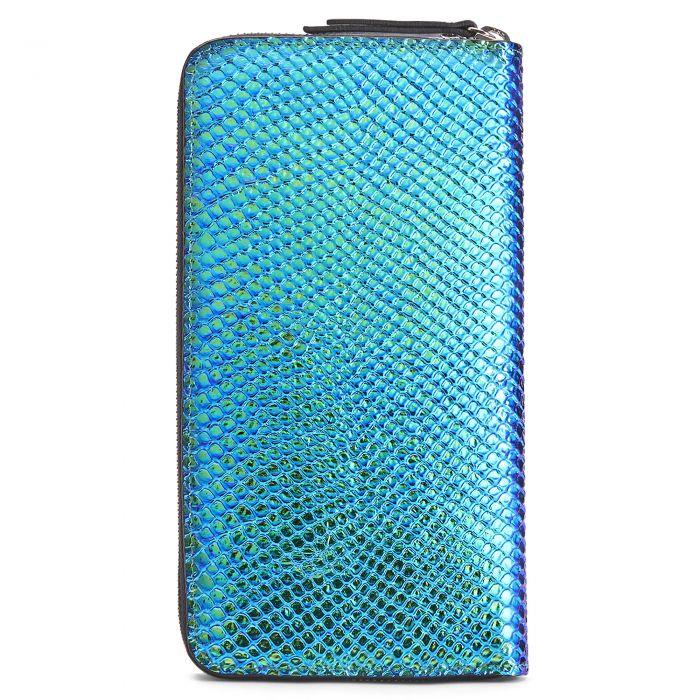 SAMUEL - Blue - Wallets