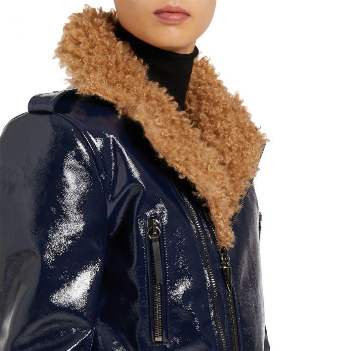 AMELIA WINTER - Blue - Jackets