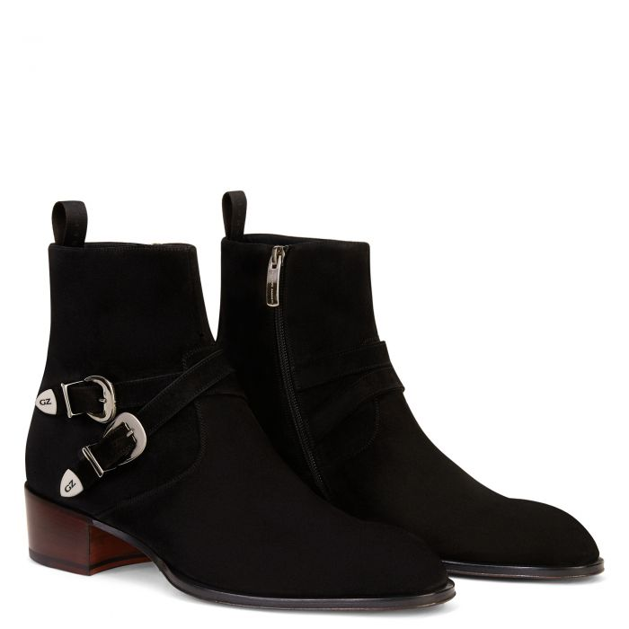 SHELDON BUCKLE - BLack - Bottes