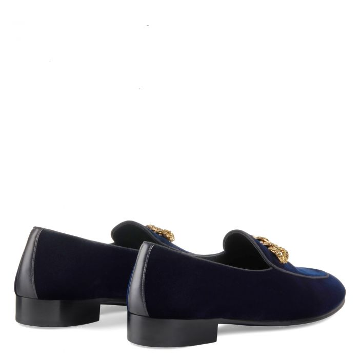 RUDOLPH CHAIN - Blue - Loafers
