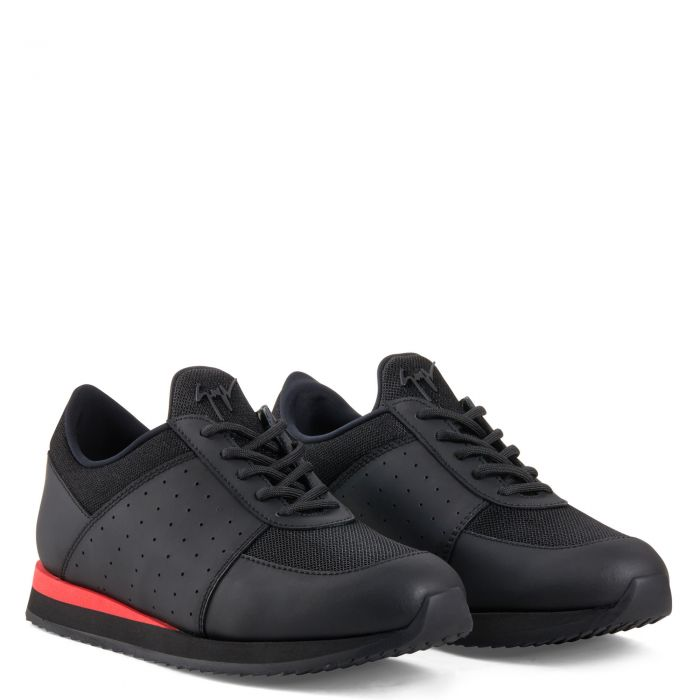 NEW JIMI RUNNING - Black - Low top sneakers