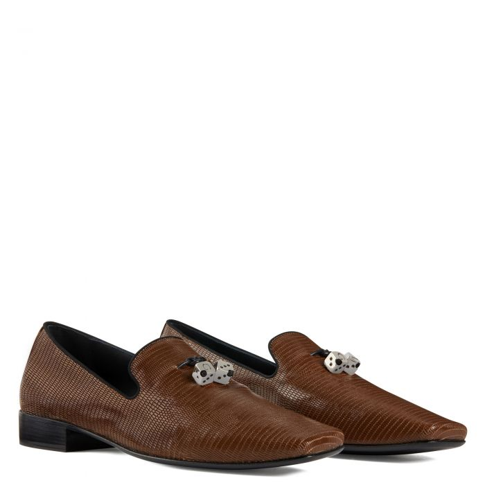 ELIO DICE - Marron - Mocassins