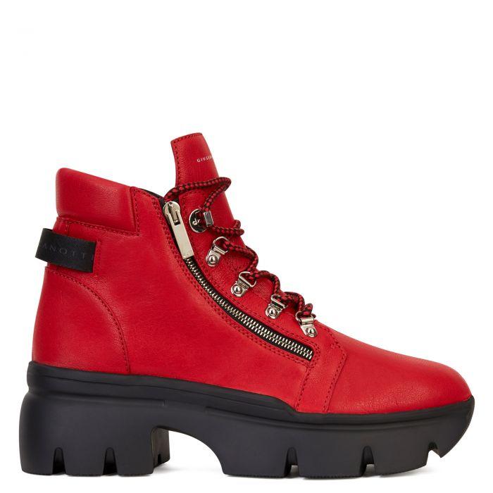 APOCALYPSE TREK - Red - Boots