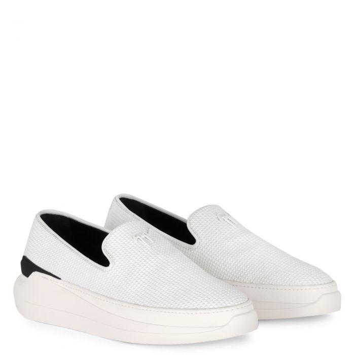 CONLEY - Blanc - Mocassins