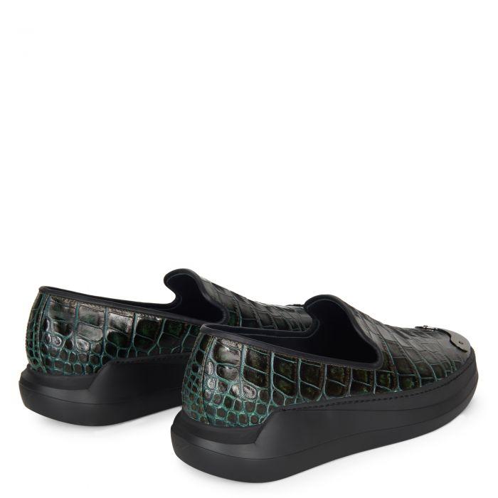 CONLEY - Green - Slip ons