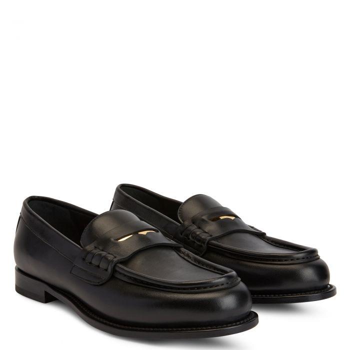 EURO LOAFER - Black - Loafers