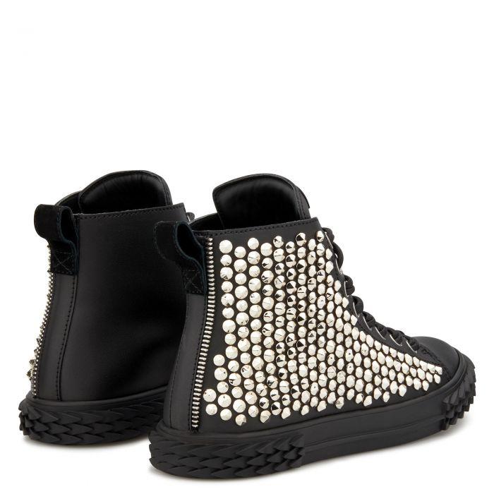 BLABBER - Noir - Sneakers montante