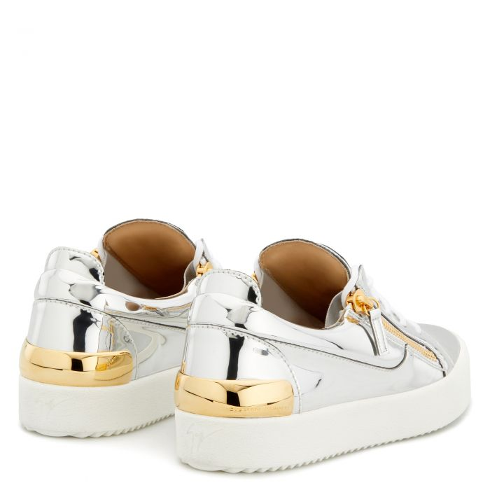 FRANKIE - Argent - Sneakers basses