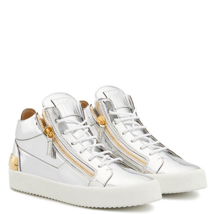KRISS - Silver - Mid top sneakers