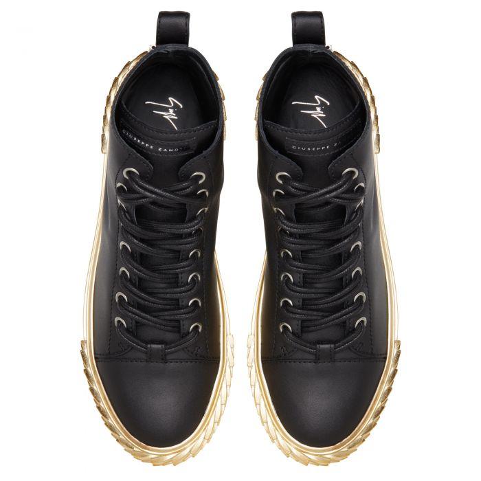BLABBER - Black - Mid-top sneakers