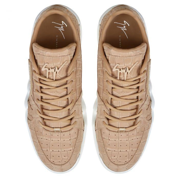 TALON - Beige - Low top sneakers