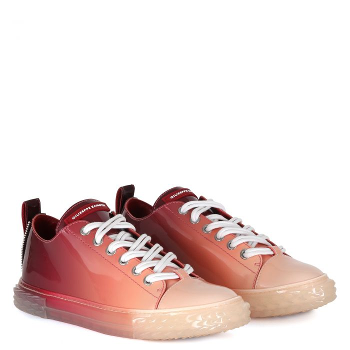 BLABBER - Rouge - Sneakers basses