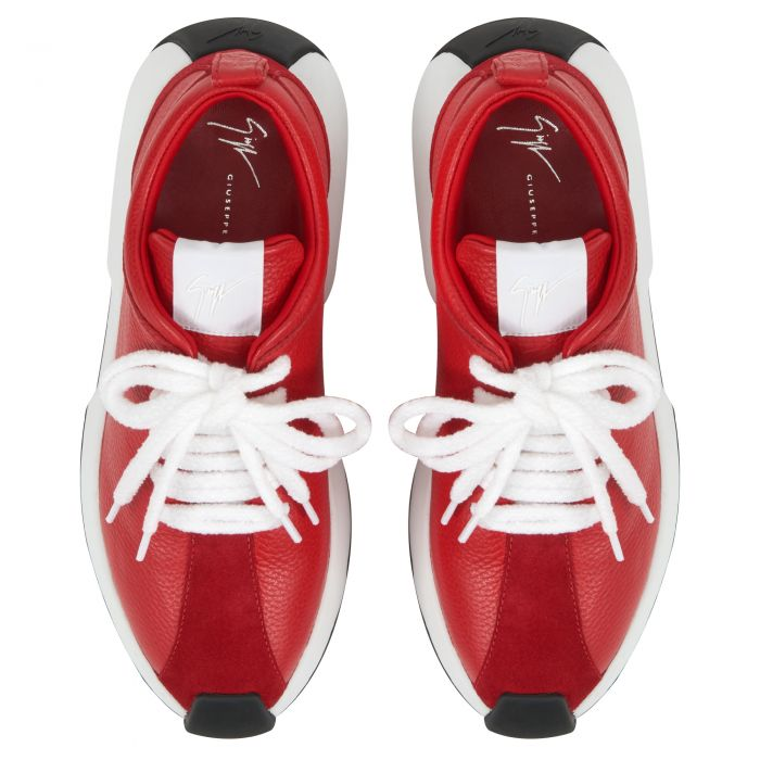 GIUSEPPE ZANOTTI FEROX - Rouge - Sneakers basses