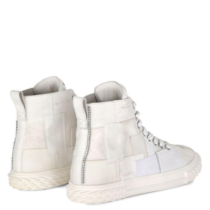BLABBER CRAFT - Blanc - Sneakers montante