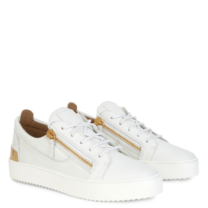 FRANKIE SHELL - White - Low top sneakers