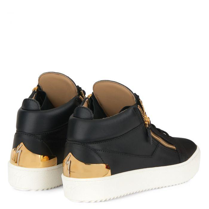 KRISS SHELL - Noir - Sneakers montante