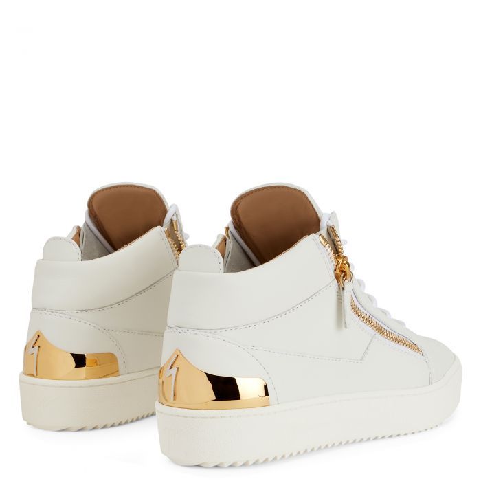 KRISS STEEL - Black - Mid top sneakers