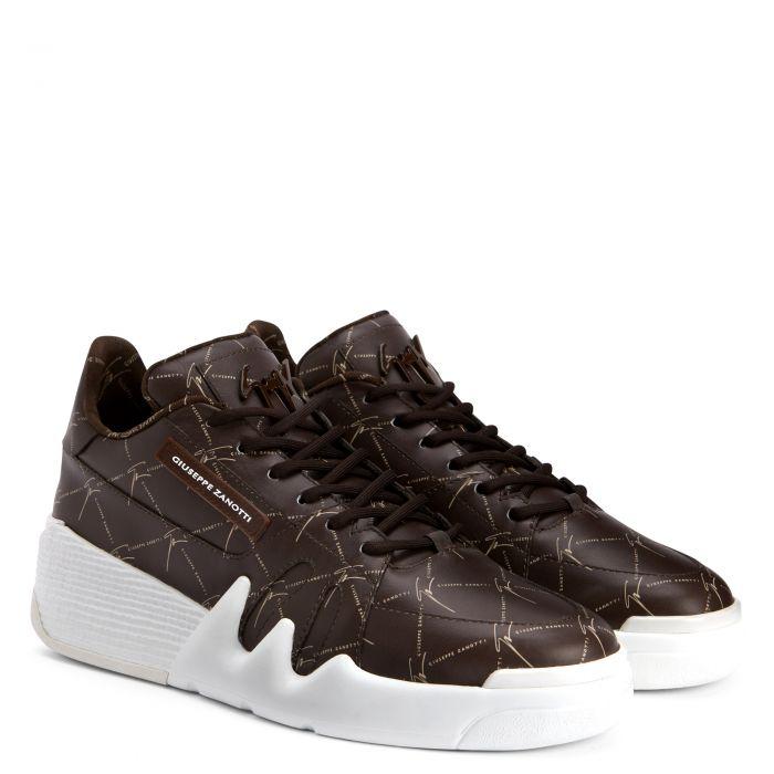 TALON - Brown - Low top sneakers