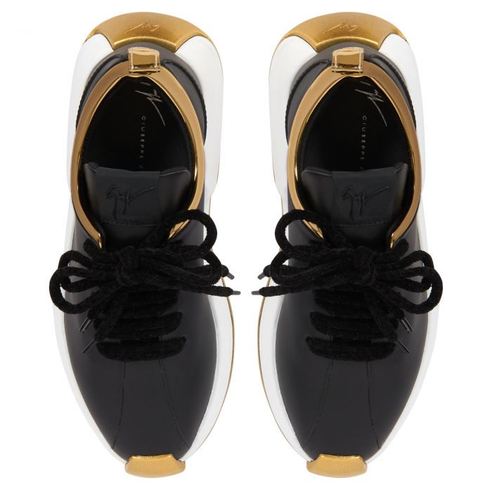 GIUSEPPE ZANOTTI FEROX - Black - Low top sneakers