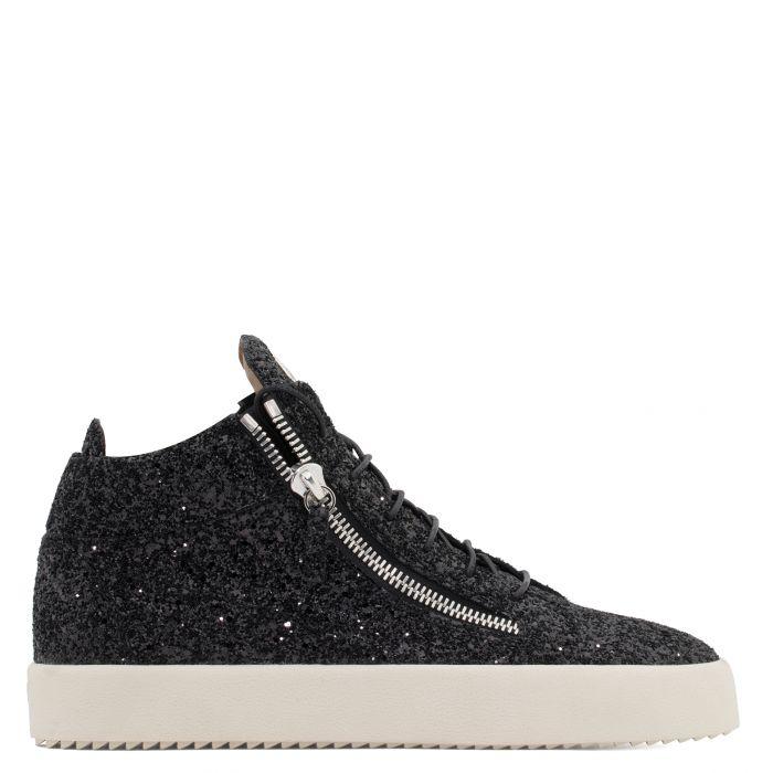 KRISS GLITTER - Noir - Sneakers montante