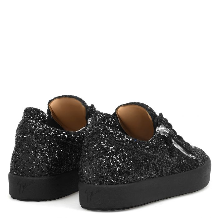 FRANKIE GLITTER - Schwarz - Low Top Sneakers