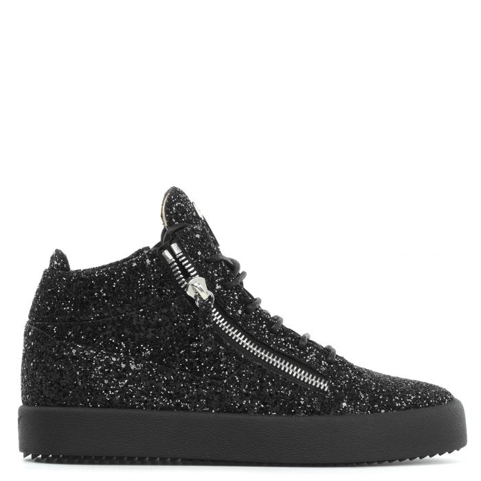 KRISS - Black - Mid top sneakers
