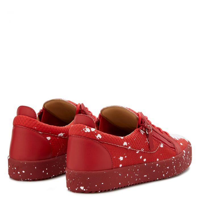 top sneakers - Red | Giuseppe Zanotti