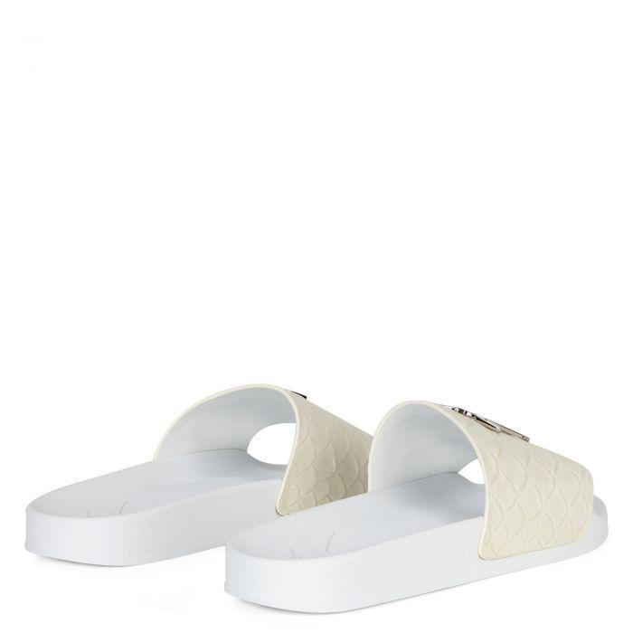 BRETT - Blanc - Talons Plats