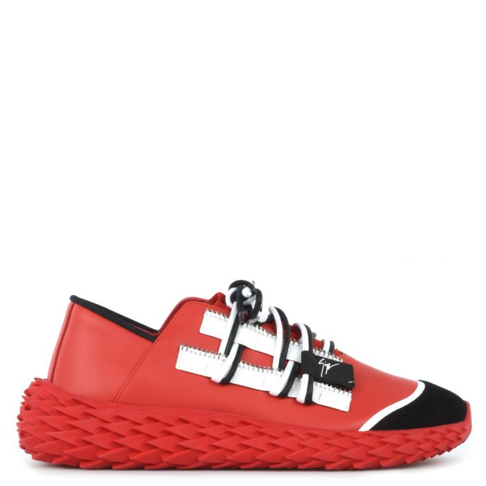 URCHIN ROCKS - Rouge - Sneakers basses