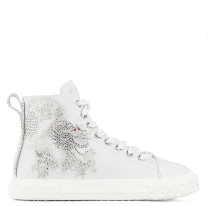 BLABBER - Blanc - Sneakers hautes