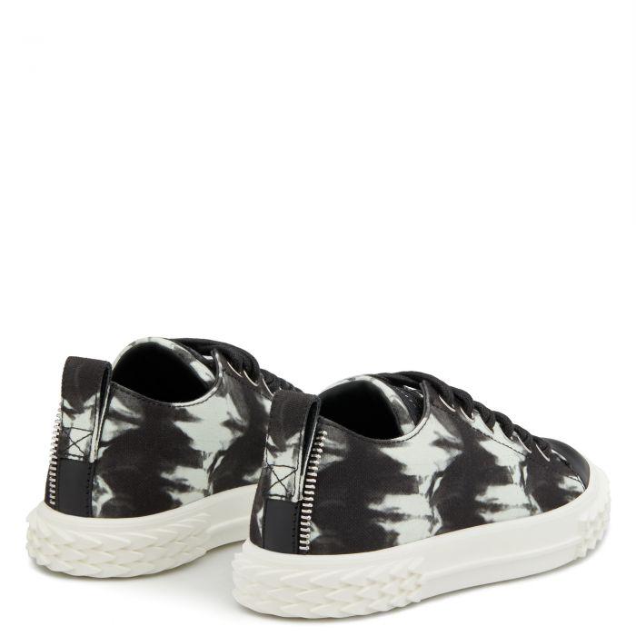BLABBER - Black - Low top sneakers